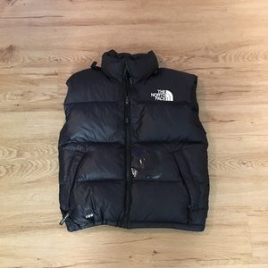 The north Face puffer down vest